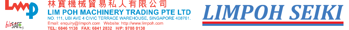 Lim Poh Machinery Trading Pte Ltd.